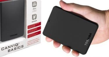 Toshiba-Canvio-Basics de 500 gb