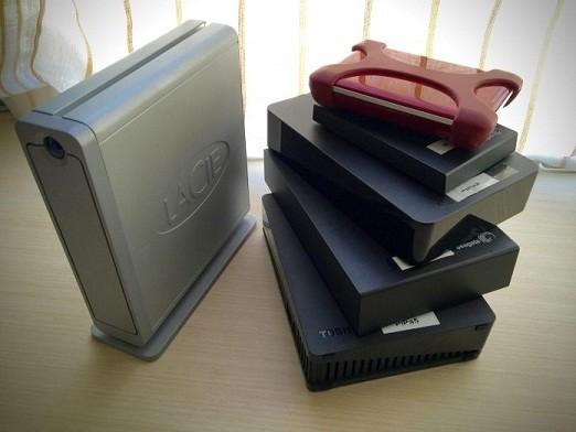 formato diferentes de discos duros externos