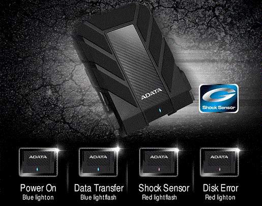 dispositivos HD710A Pro y HD710M Pro de ADATA