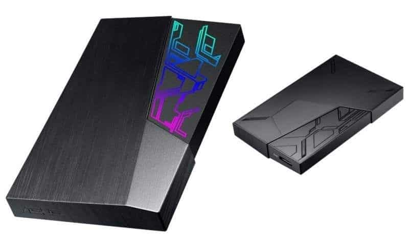 Discos duros con sistema RGB serie FX