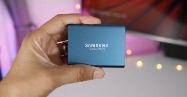 Samsung T5 500GB - Disco Estado sólido SSD Externo